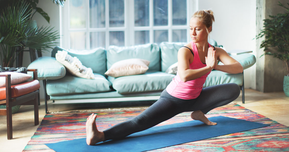 Yoga at Home | VillaSport Athletic Club and Spa
