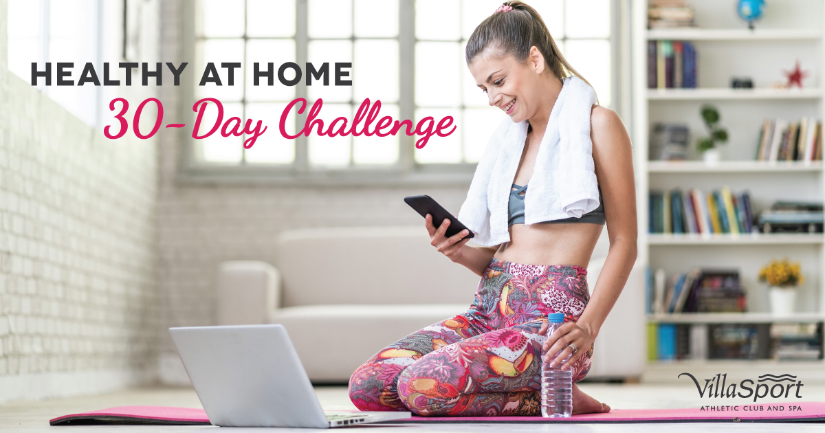 healthy at home 30 day challenge