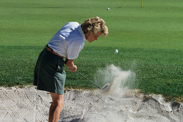 Hitting it Out of the Sand Trap