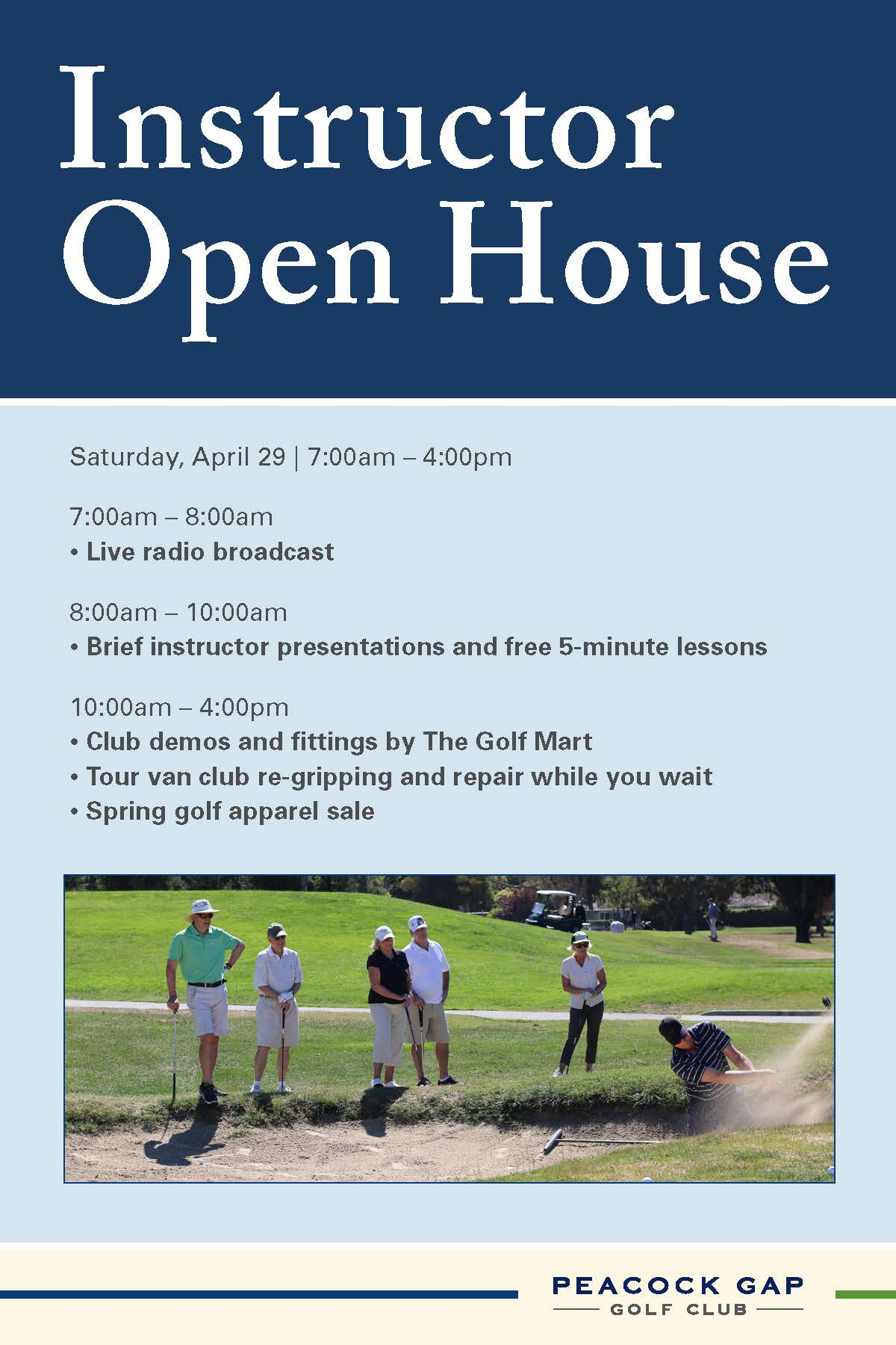 Instructor Open House