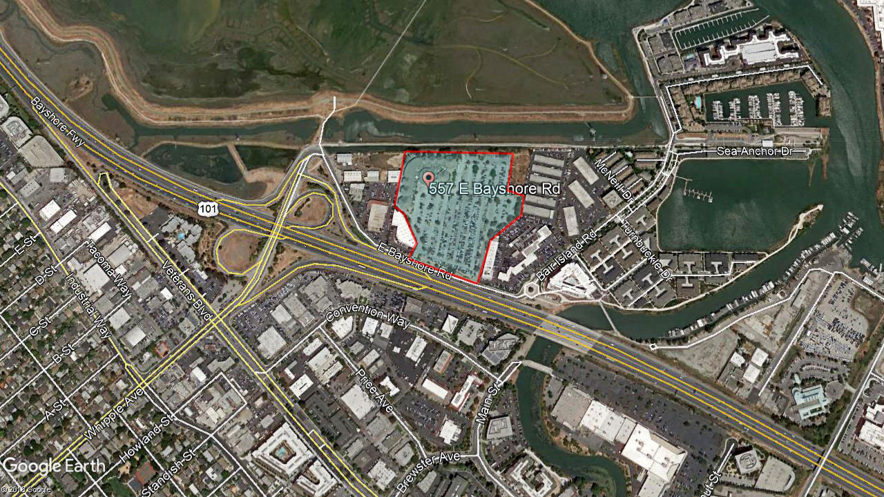 Redwood City aerial