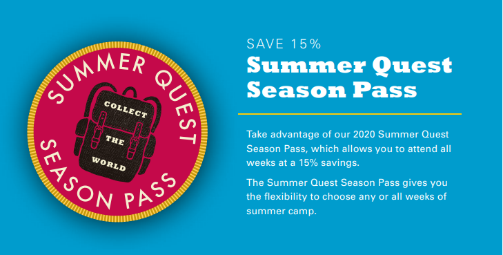 Summer Camp Season Pass Badge