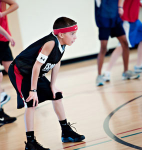 Youth basketball camps at VillaSport