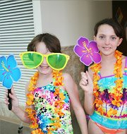 Luau Pool Party Kids