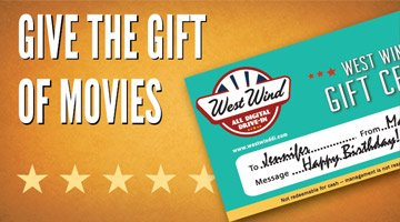 West Wind Drive In Gift Certificates