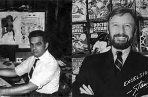 Stan Lee and Jack Kirby