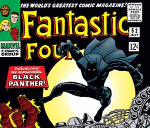 Fantastic Four #52 Black Panther Debut