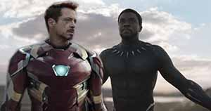Black Panther and Iron Man