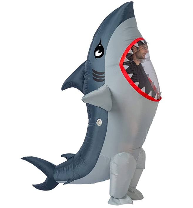 Inflatable Shark Suit