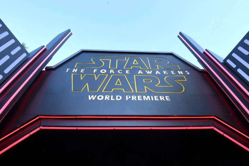 Star Wars Force Awakens Theater Marquee