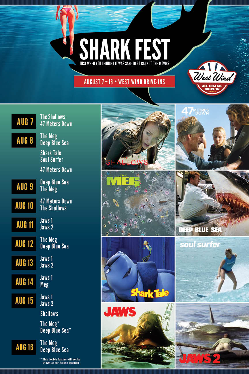West Wind Drive-In Shark Fest