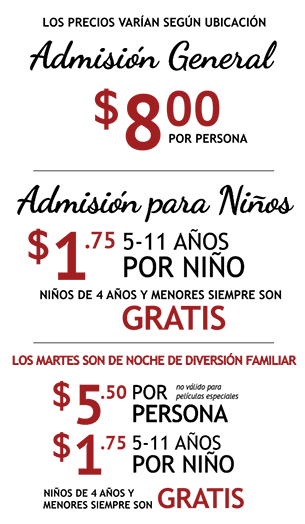 Admission Pricing