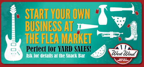 Start Your Own Business At the Flea Market