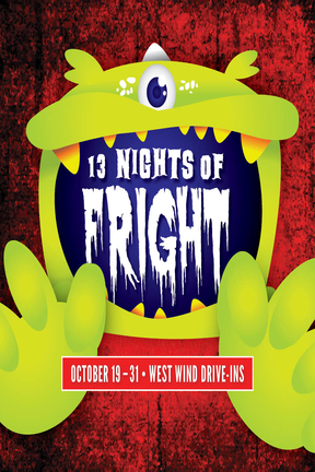 13 Nights of Fright Poster